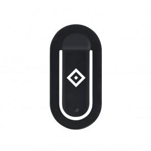 flapgrip Handyhalterung mit HSV-Logo - Smartphone-Halterung - schwarz