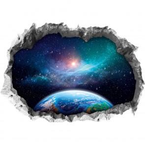 """Wandtattoo 3D """"Galaxy"""""""