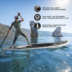 FitEngine Trip SUP-Board Set (Allrounder) - 10,8'