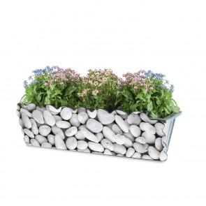 MAXXMEE Kastendekoration Steine - Für Standard-Blumenkästen von 30-50 cm Breite