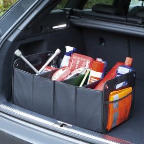 EASYmaxx Kofferraum-Aufbewahrungsbox - faltbar - schwarz
