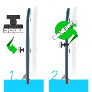 MAXXMEE LED-Leuchte Unterwasser - 12 LEDs in 360° Anordnung - 3 verschiedene Modi