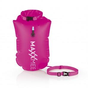 MAXXMEE Schwimmboje mit 10 l Trockenkammer - 37,5 x 72 cm - pink