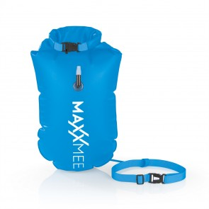MAXXMEE Schwimmboje mit 10 l Trockenkammer - 37,5 x 72 cm - blau
