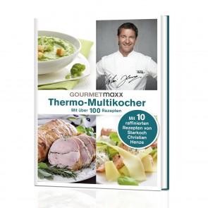 GOURMETmaxx Buch Thermo-Multikocher mit Rezepten von Henze - Freisteller