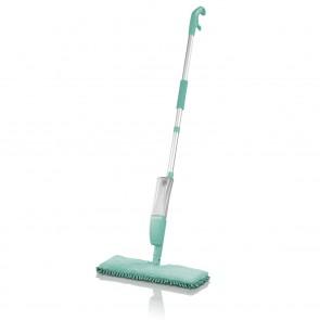 CLEANmaxx Spray-Mopp 2in 1 türkis mit Wendefunktion - Freisteller